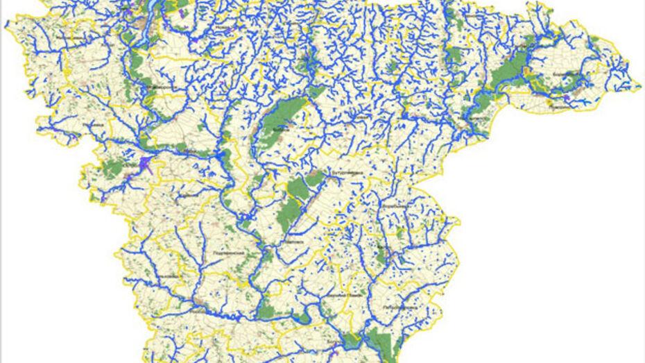 Опубликована карта зимней рыбалки