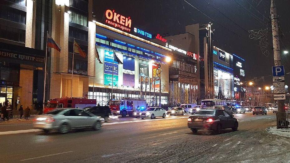 Из воронежской «Галереи Чижова» эвакуировали посетителей
