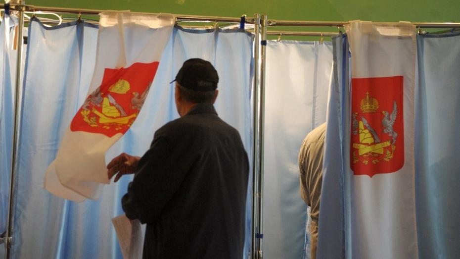 В Воронежской области открылось 1711 избирательных участков