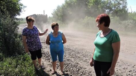 Воронежские селяне пожаловались на пыль от строящейся железной дороги в обход Украины