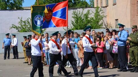 В Кантемировке побывали пограничники с Эстафетой Победы