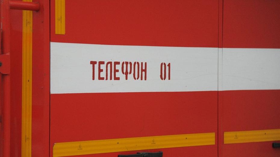 В Воронежской области пожарные потушили тепловоз с цистернами горючего
