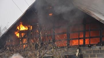 В Левобережном районе Воронежа при пожаре погиб пенсионер