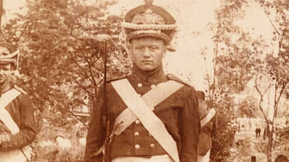 Житель Репьевского района послужил и в советской,  и в царской армии