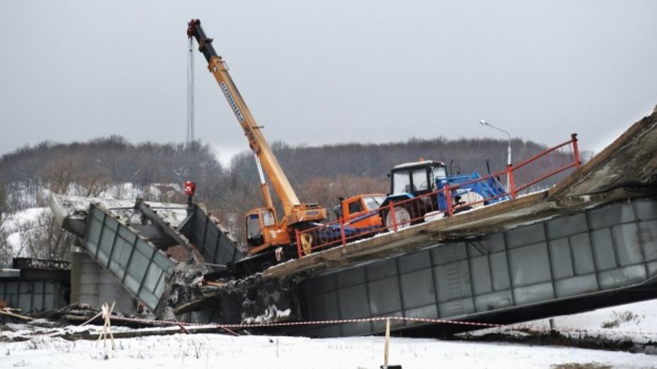 По факту обрушений моста в Борисоглебском районе возбуждены уголовные дела
