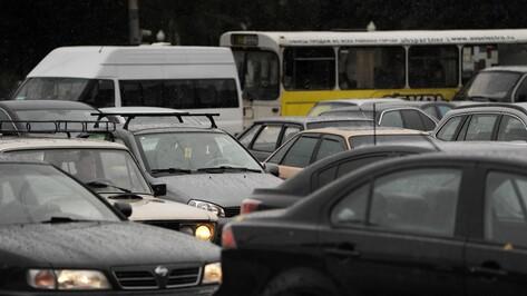 Власти Воронежа разработают новую схему движения по улицам Димитрова и Остужева
