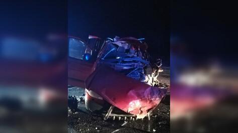 Пассажирский микроавтобус влетел в фуру на «встречке» в Воронежской области: 3 погибло