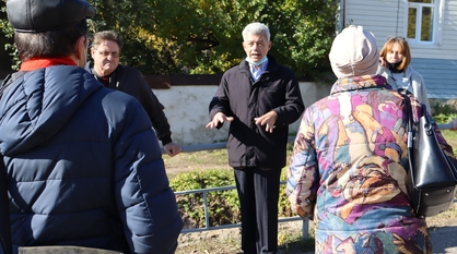 Эксперты вместе с чиновниками прогулялись по Севастьяновскому съезду в Воронеже