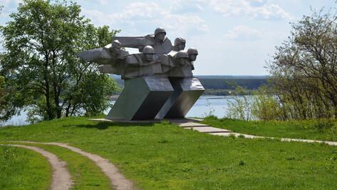 Проект РИА «Воронеж». Где этот памятник? Братская могила на Шиловском плацдарме