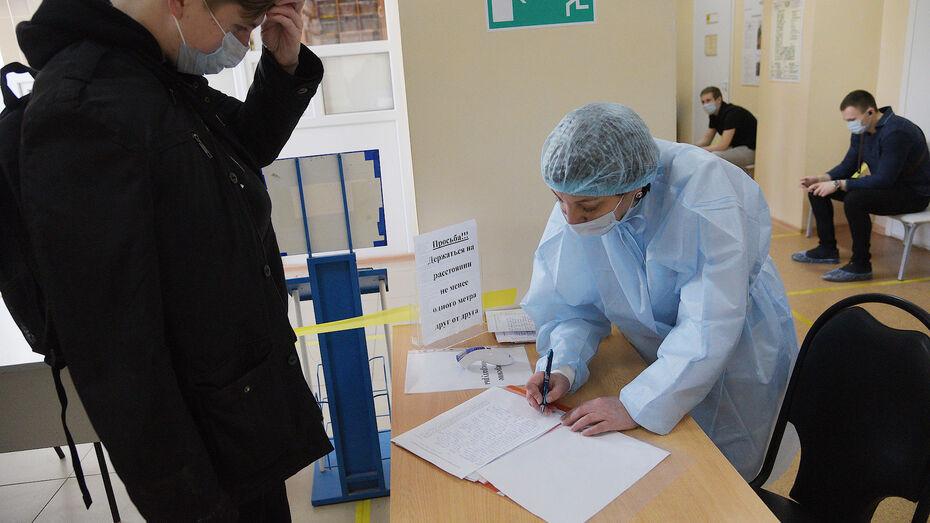 Ковидом заболели 176 жителей Воронежской области за сутки