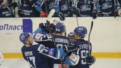 Хоккеисты «Россоши» одержали волевую победу над «СКА-Варягами» в 3 матче четвертьфинала