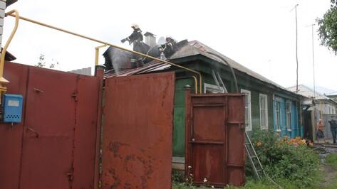 В Борисоглебске при пожаре в жилом доме пострадали 2 детей