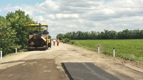 На ремонт дорог в Кантемировском районе Воронежской области направят около 1 млрд рублей