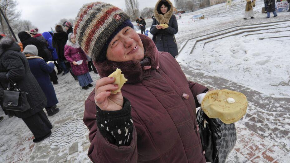 В Воронеже из-за празднования Масленицы перекроют часть улицы Театральная