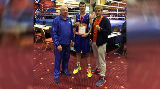 Борисоглебец победил на первенстве ЦФО по боксу
