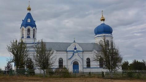 В Поворинском районе отметила столетний юбилей уникальная церковь