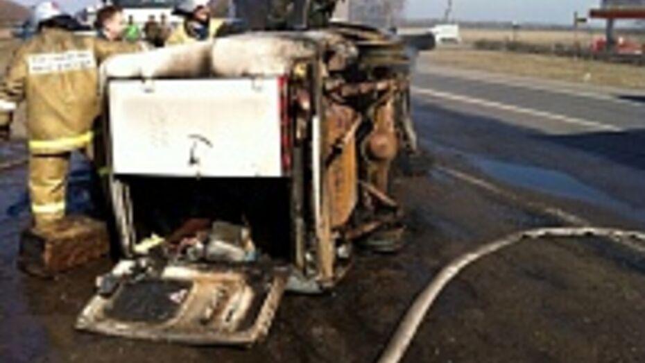 В Воронежской области автомобиль «Иж» вылетел в кювет: погибли два человека