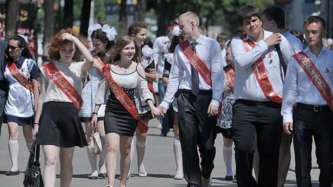 Выпускников Воронежской области поздравили губернатор и спикер облдумы