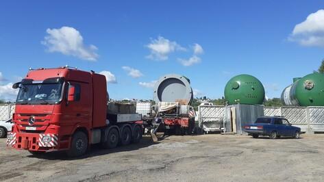 Застрявшее под Воронежем оборудование для Курской АЭС-2 начнут транспортировать по суше