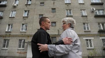 Репортаж РИА «Воронеж». Отсидевший 15 лет военный встретился с матерью убитого
