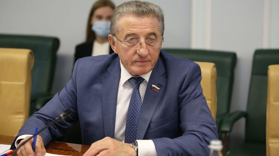 Воронежский сенатор Сергей Лукин – о росте цен на стройматериалы