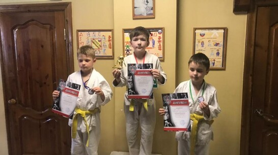 Юный поворинский спортсмен взял «золото» открытого турнира по дзюдо