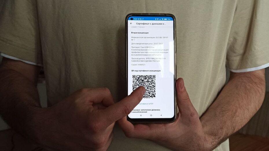 Воронежский облздрав дал разъяснение по получению QR-кодов