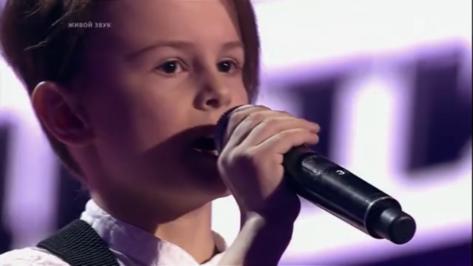 Воронежский мальчик заплакал на шоу «Голос. Дети»