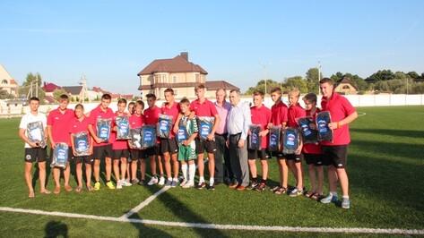 Новоусманские футболисты заняли второе место в турнире ЦФО на призы клуба «Кожаный мяч»