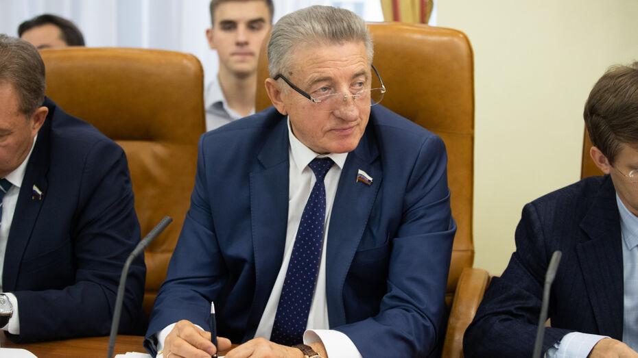 Воронежский сенатор Сергей Лукин принял участие в формировании задач Совфеда на 2020 год