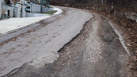 Дорогу возле дворца Ольденбургских в Воронежской области начнут чинить во 2 квартале 2021 года