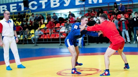 Воронежский спортсмен выиграл международный турнир по самбо