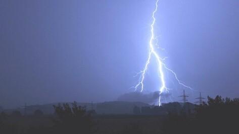 Спасатели предупредили воронежцев о сильных дождях и грозах