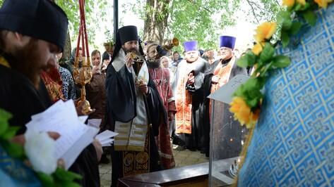 Паломники со всей России почтили в острогожском селе память старца Спиридона