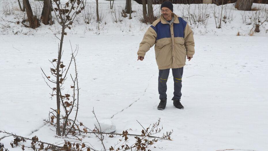 Калачеевец спас провалившегося под лед рыбака