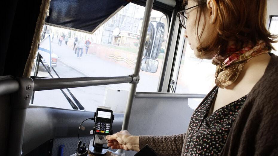 Воронежцы за месяц сэкономили 17,2 млн рублей на оплате проезда
