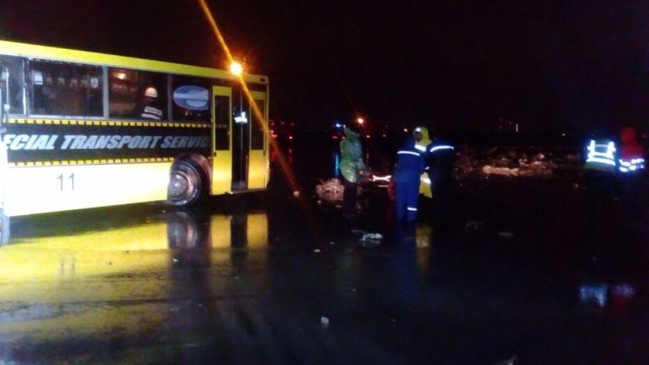 В Ростове-на-Дону разбился пассажирский самолет