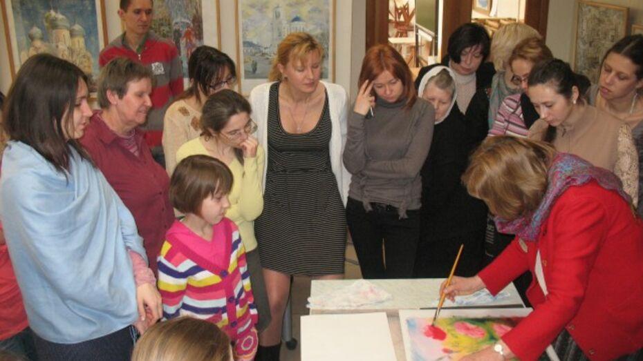 Немецкая художница проведет в Воронеже семинар