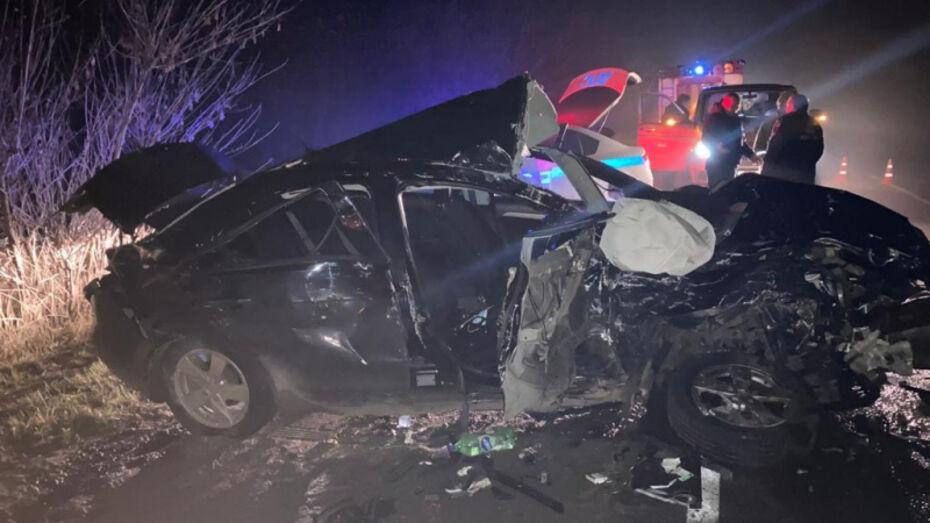 Авария с микроавтобусом в Воронежской области: погибла девушка и 4 человека пострадали