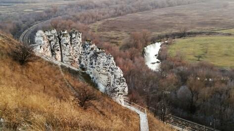Воронежцев позвали на зимние экскурсии в Дивногорье