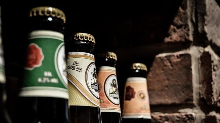 В Воронеже силовики изъяли у бутлегеров 5,7 тыс л контрафактного алкоголя