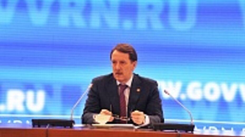 Алексей Гордеев: «В ближайшие годы Воронежская область сможет обходиться без федеральных денег»