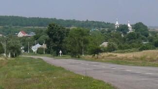 В грибановском селе Кирсановка активисты через 30 лет заменили изгородь на кладбище