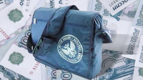 Воронежец ограбил почтальона, отобрав у нее сумку с 205 тысячами рублей