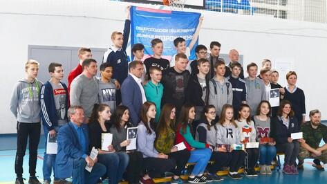 Чемпион мира по боксу Александр Поветкин посетил Семилуки