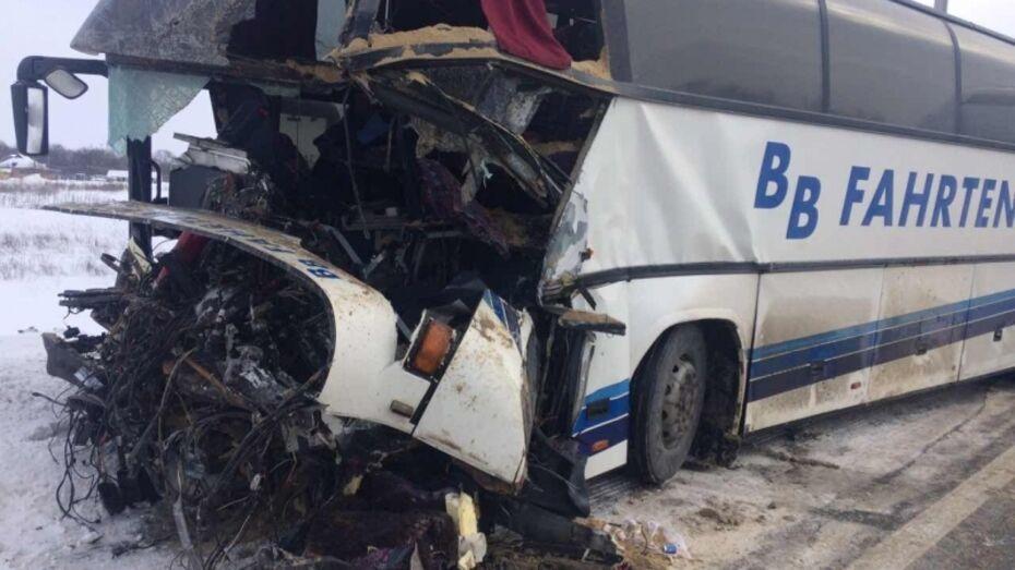 Полиция озвучила подробности ДТП с 7 пострадавшими под Воронежем