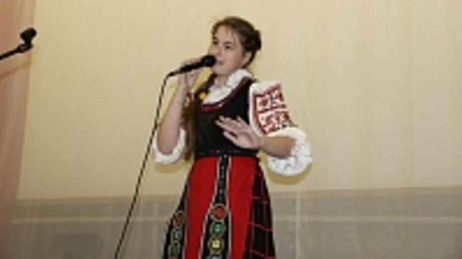 В Новоусманском районе прошел первый фестиваль славянской культуры