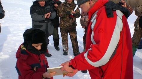 В Грибановке прошел фестиваль зимней рыбалки