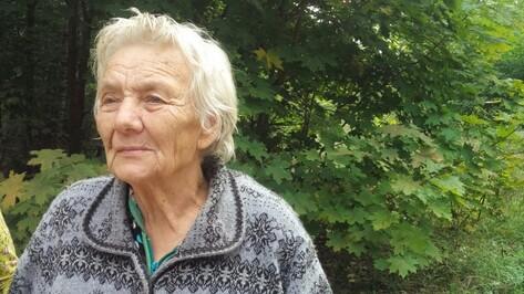 Заблудившаяся 86-летняя старушка провела в лесу под Воронежем 2 дня
