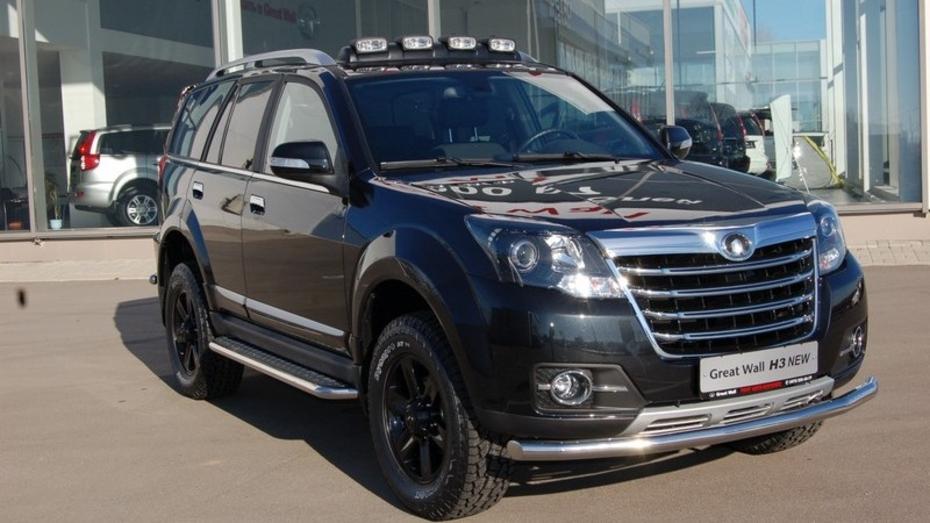 Воронежцы смогут купить новую модель внедорожника GreatWallH3 со скидкой